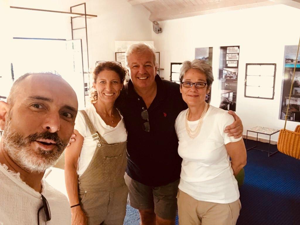 Paola Lenti e Kicco Bestetti a Ideacasain